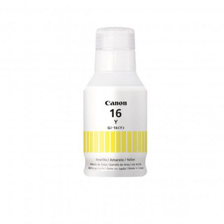Tinta Canon GI-16Y GI16Y Amarelo | Mega Tank GX6010 GX7010 | Original 132ml